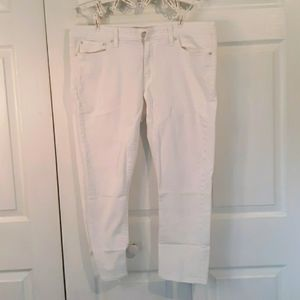 Levi's Boyfriend Skinny All white Jeans Womens 32